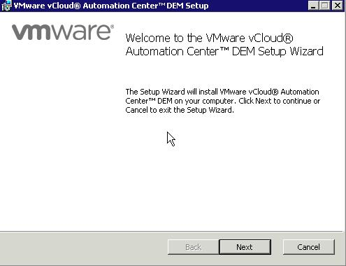 Installation vCloud Automation Center (vCAC) 5.1 in einer Labumgebung (Teil 2)